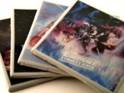 Coasters with artwork from The Empire Strikes Back