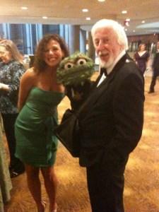 Elise And Oscar the Grouch