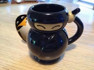 Ninja Penguin Mug-1