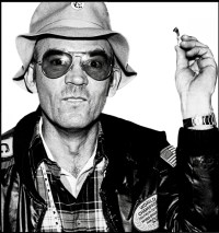 The opening line of Hunter S. Thompson's FEAR AND LOATHING IN LAS VEGAS: 'We were somewhere around Barstow on the edge of the desert when the drugs began to take hold.'