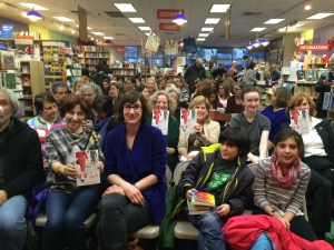 Audience at Porter Square Books