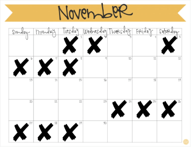 month-of-november