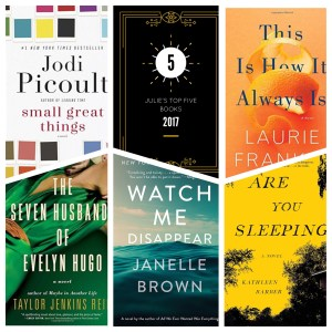 Julie S Top Five Books Of 2017 The Debutante Ball