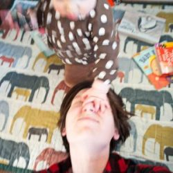 Actual Author Being Hit in the Face by a Toddler