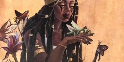Kemetic Sorceress Iby @tshikamba