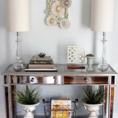 Living Room Console Glass Coffee Tables Table Decor Fix