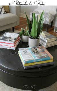 How To Decorate A Round Coffee Table - Home Design