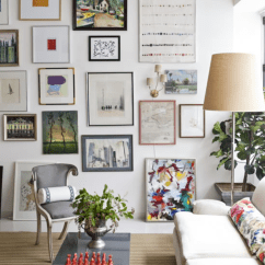 Living Room Art Wall Office Design Ideas How To Curate A Gallery