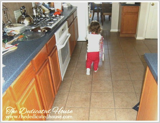 Earning Stripes Kitchen Makeover First Step