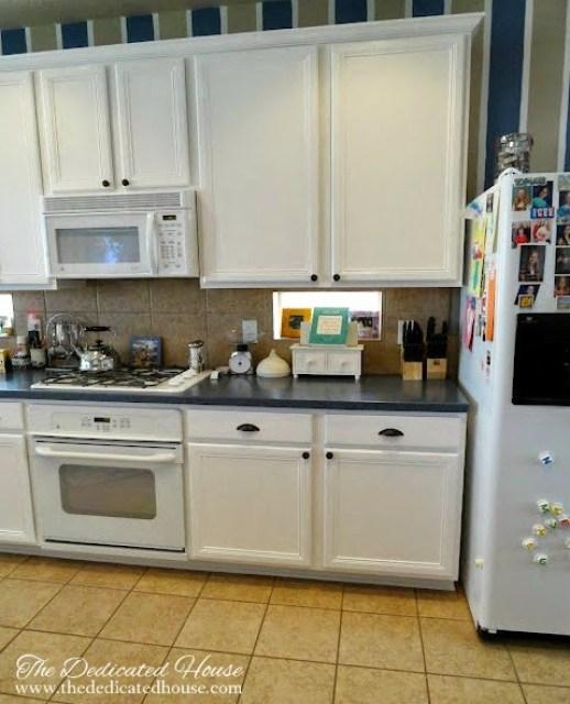 Kitchen Cabinet Transformation