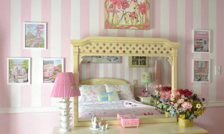 One Room Challenge – Little Girl's Bedroom Makeover