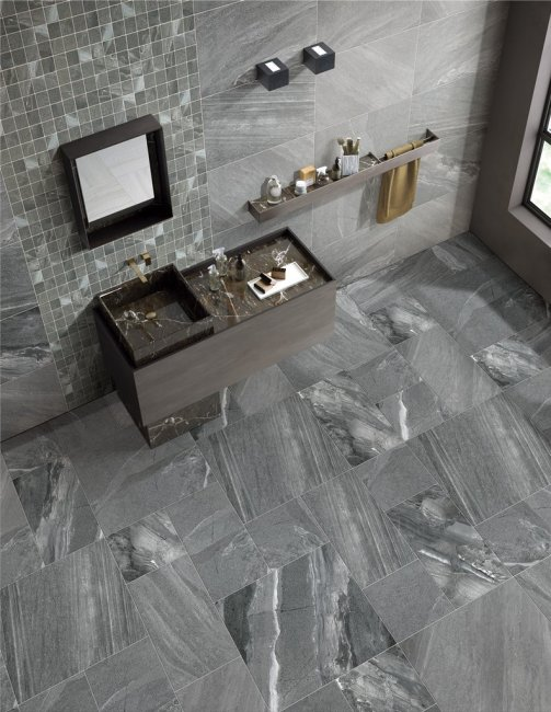 Different Types Tiles Can Use Bathroom