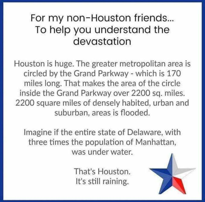 Hurricane Harvey & New Normal
