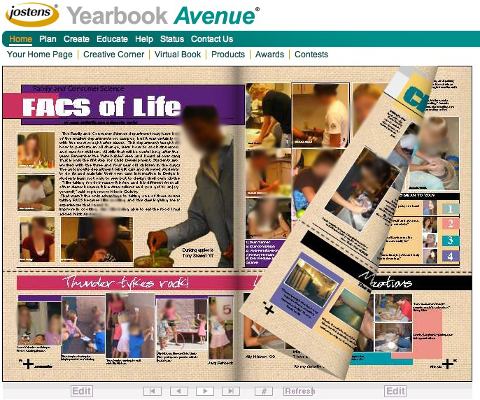Technology in the Classroom: Yearbook Design a la Web 2.0