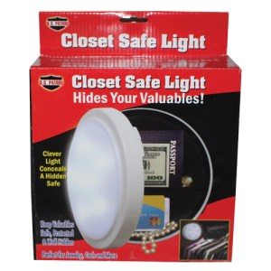 Closet Light Diversion Safe