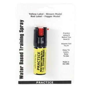 .5oz Inert Practice Defensive Spray
