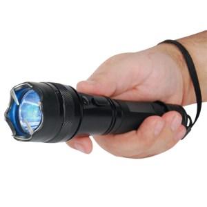 Shorty Metal Stun Flashlight
