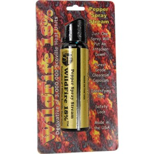 4oz Wildfire Pepper Spray Stream