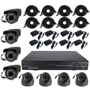 HD 8 Channel Surveillance System