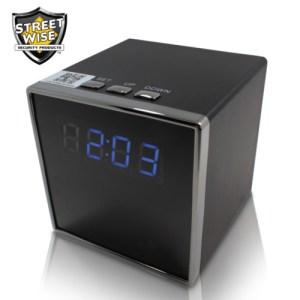 Cube Clock Camera