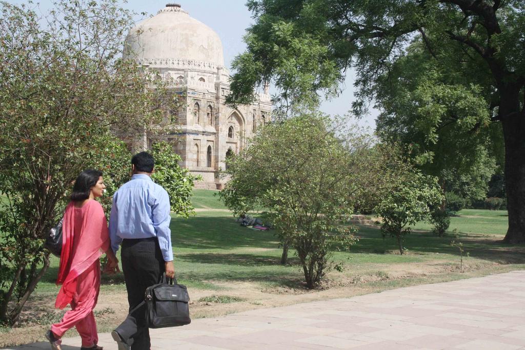 Photo Essay     The Garden Lovers of Delhi The Delhi Walla