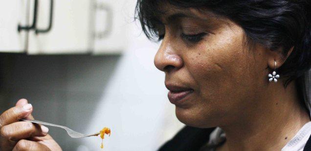 Julia Child in Delhi – Kiranmayi Bhushi Makes Sweet & Sour Pumpkin, Asian Games Village