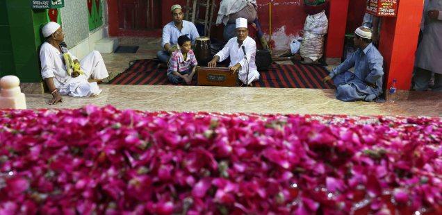 City Faith - Hazrat Hare Bhare Shah's Death Anniversary Celebration, Outside Jama Masjid