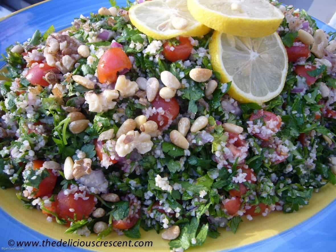 Tabbouleh Salad with Pine Nuts