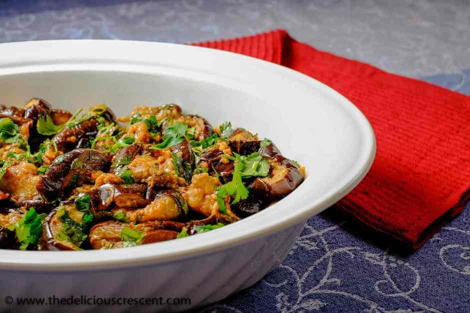 Baked Eggplant Salad with Chermoula 1