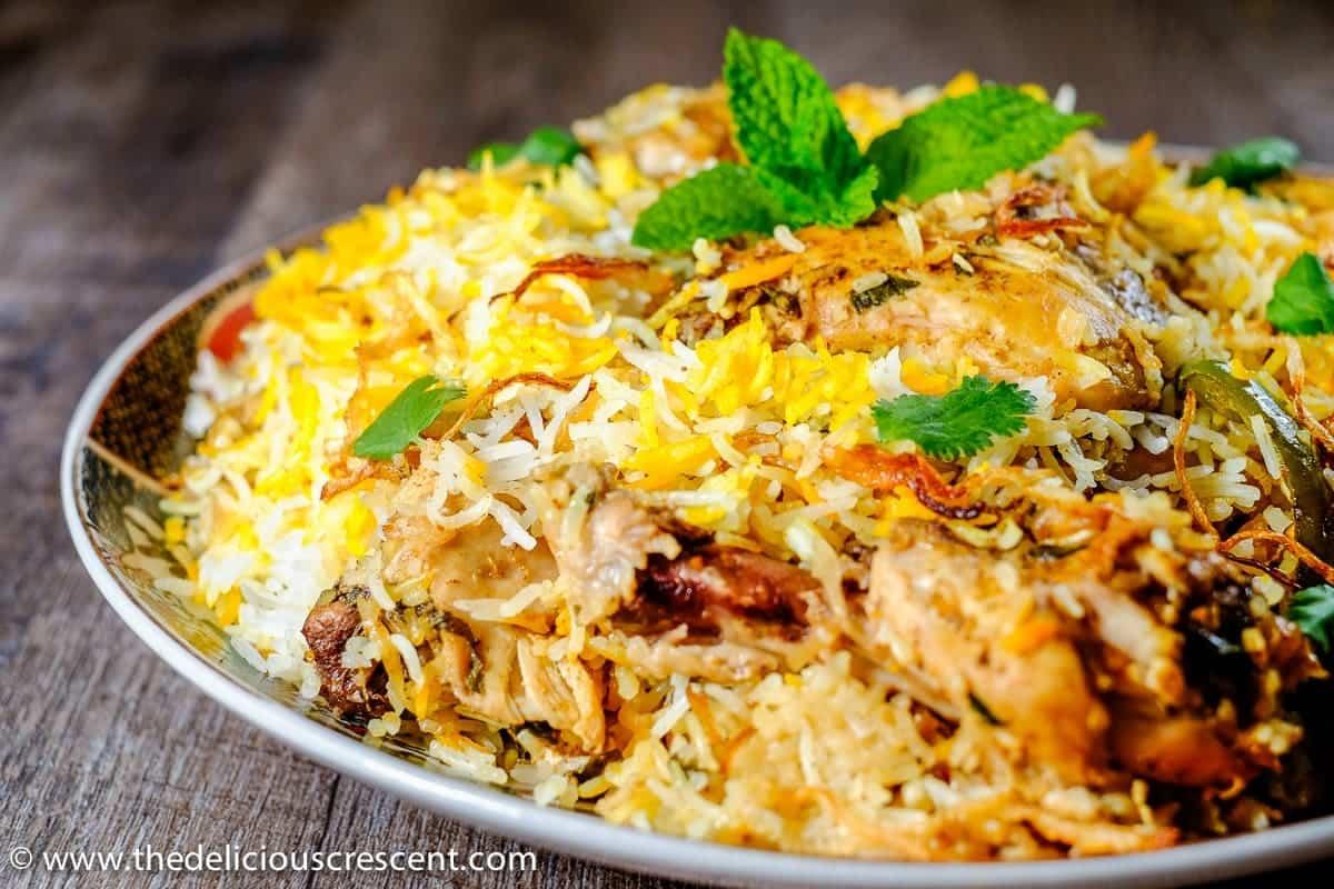Easy Hyderabadi Chicken Biryani