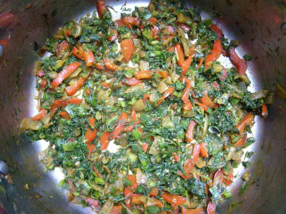 Persian Shrimp Quinoa Herb Rice Prep
