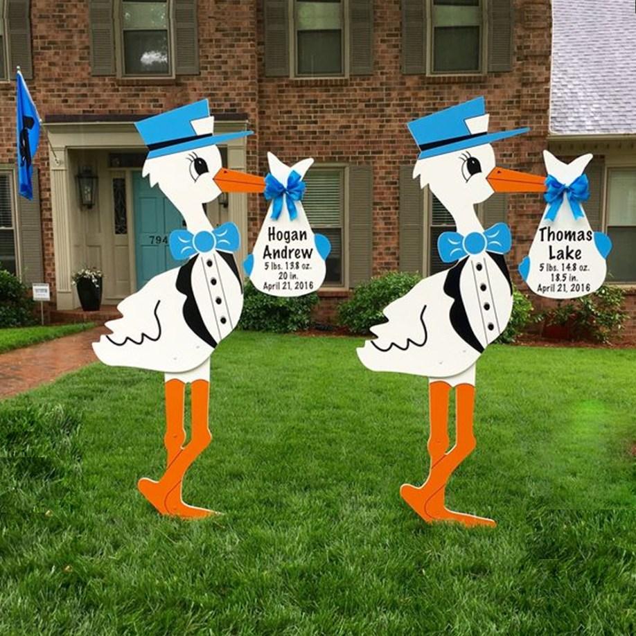 Twin Blue Storks Lexington, downtown Columbia, Chapin, Cayce, SC