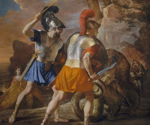 The Companions of Rinaldo - Nicolas Poussin