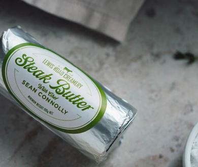 Lewis Road Creamery has released a tantalising new Steak Butter