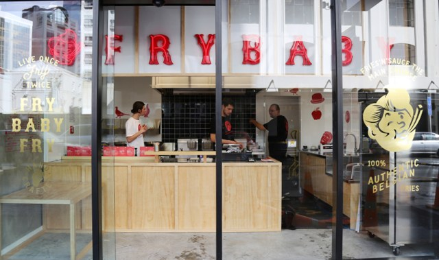 Fry Baby is putting the beloved side order front and centre