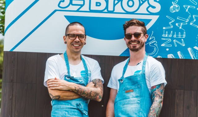 Chefs on tour: Josh Barlow and Brody Jenkins' burger truck is the talk of the town
