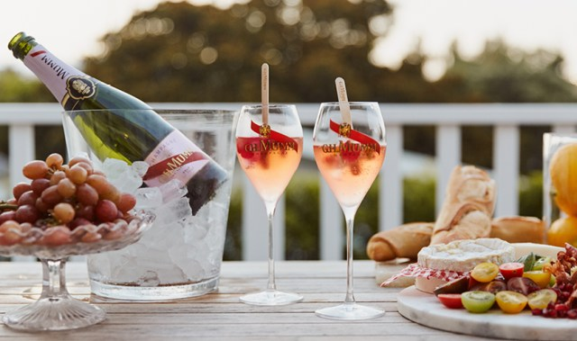 Champagne Mumm's luxurious new Rosé subscription is making Friday nights look better than ever
