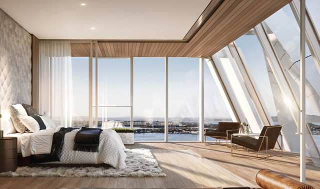 This record-breaking apartment building is taking Auckland's skyline to new heights