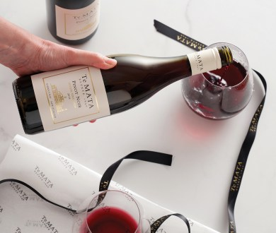 Te Mata Estate's new release is the acclaimed vineyard's first pinot noir