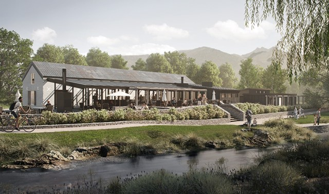 The Ayrburn Domain development is set to change the face of Queenstown's hospitality scene