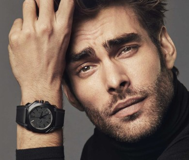 Give your classic timepiece a contemporary twist with these stylish black and blue watches