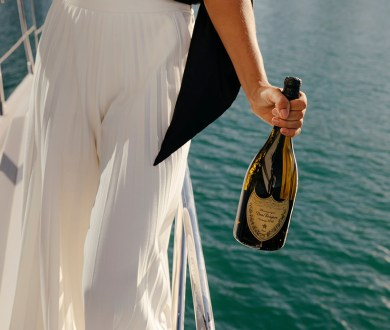 It's your last chance to pre-order Dom Pérignon's luxurious on-water Champagne delivery service