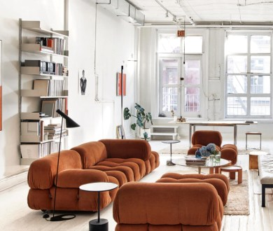 Learn the story behind one of the world's most recognisable sofas: Mario Bellini's Camaleonda