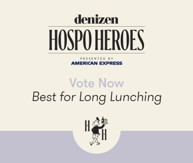 Vote now: Celebrate the spots that make it oh-so easy to stay by voting best for long lunching