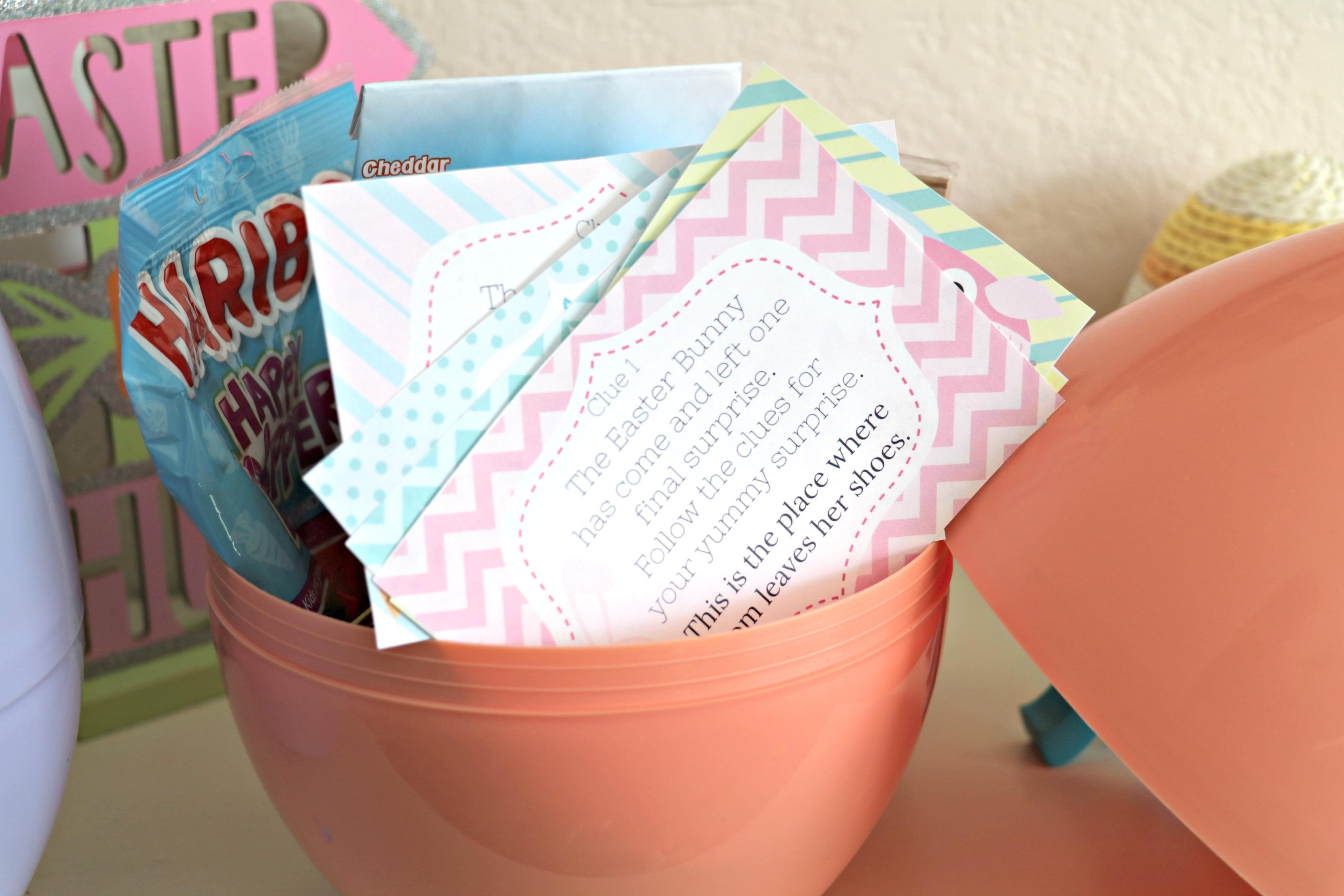 Kids Scavenger Hunt For Easter With Jumbo Easter Egg Prize