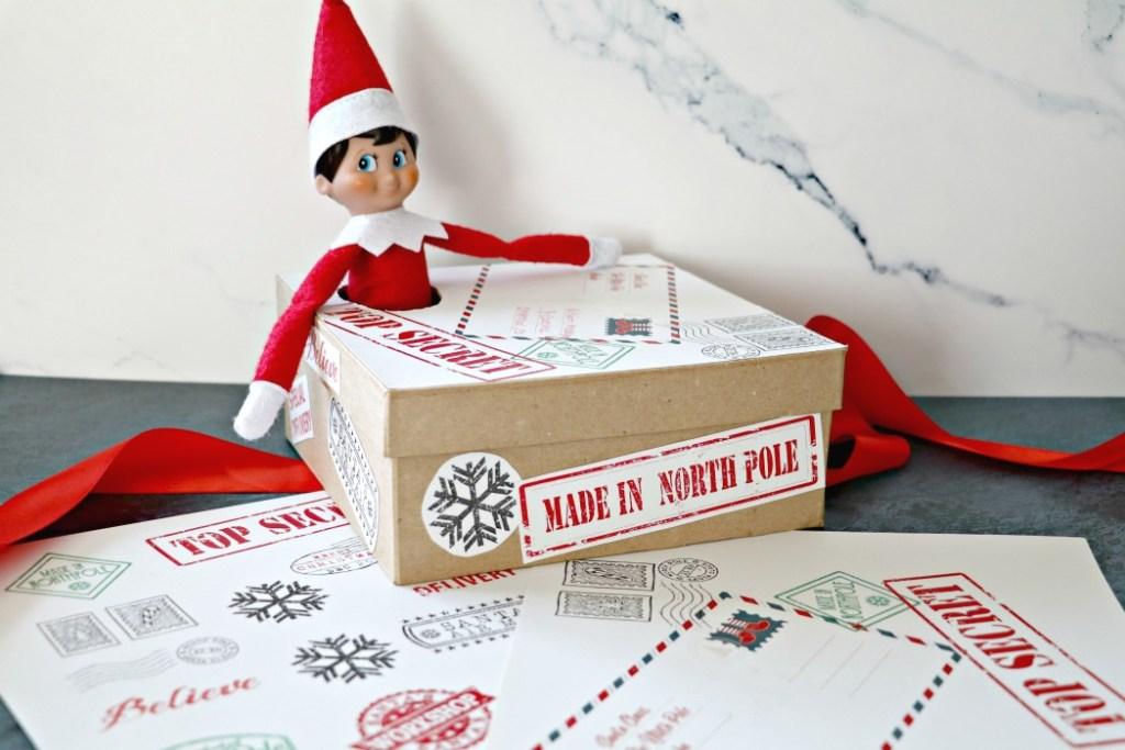 Elf on The Shelf Arrival Ideas Box