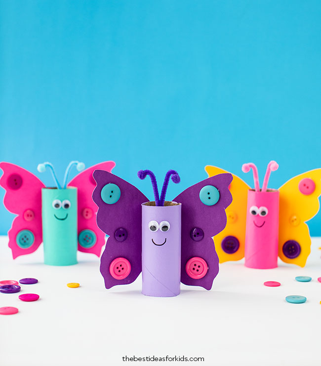 Toilet-Paper-Roll-Butterfly-Craft