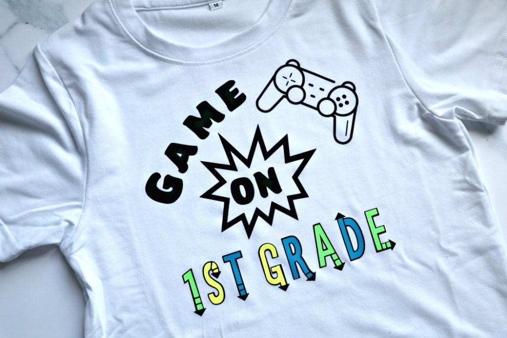 Game on First Grade Shirt