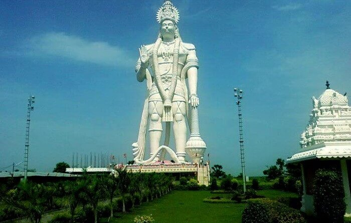 tallest statue of Lord Hanuman