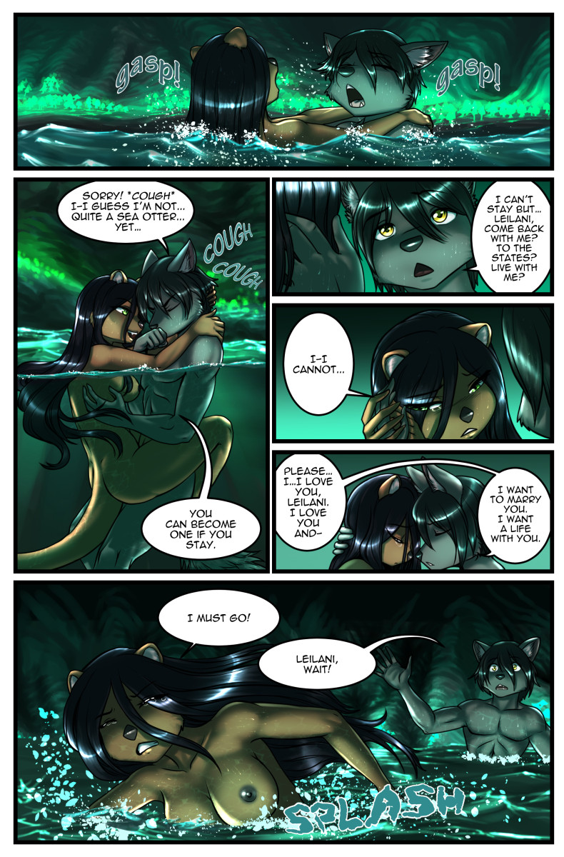 Page 34 The Depths Webcomic